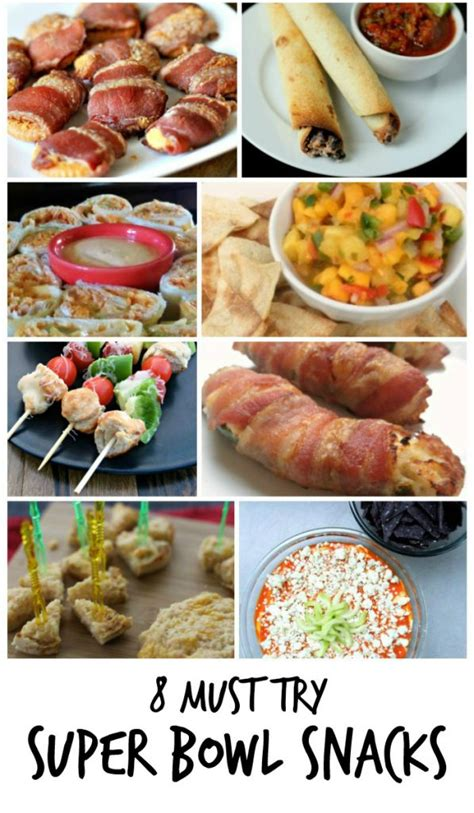bowl snack recipes 8 must try super bowl snack recipes family focus blog