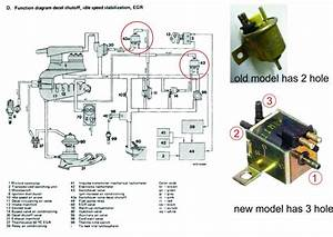 W123 M110 Vacuum Change Over Valve