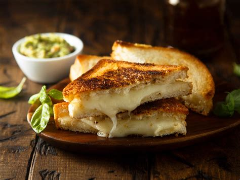 healthy grilled cheese sandwich