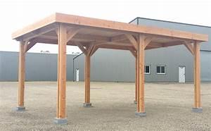 abri quotcarportquot 4 x 4 carport bois nea concept With maison classe energie e 10 carport bois carports abris voitures abris