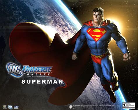 game news  superman screens  dc universe