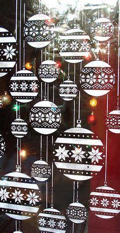 Fensterdekoration Weihnachten Kindergarten by Edding Schablone Dekoration Fensterdeko Weihnachten
