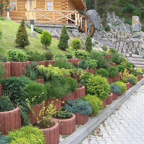 Garten Gestalten Immergrün by Pflanzsteine Setzen Bepflanzen Rund Pflanzringe Immergr 252 N