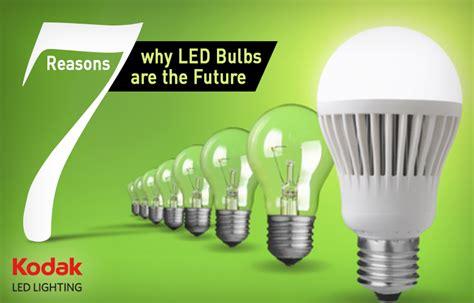 7 reasons why led bulbs are the future kodak led lighting
