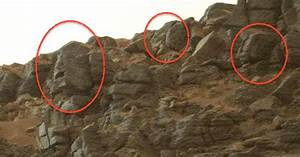 Nine Faces On Mars In NASA Photo! Feb 2015, video, UFO ...