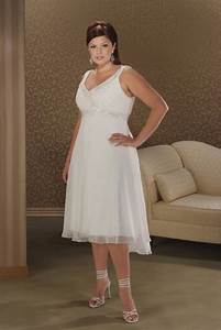 Short length plus size wedding dresses for Plus size short wedding dress