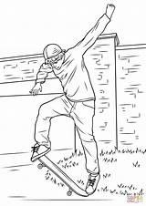 Coloring Skateboard Skateboarding Boy Drawing Street Cat Marvelous Ramps Dog Printable Visit Drawings Deskorolce Jazda Delaney Cartoon Drukuj Open sketch template