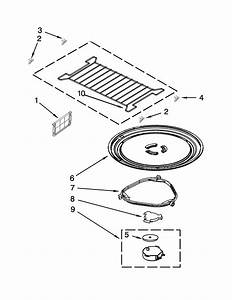 Turntable Parts Diagram  U0026 Parts List For Model Mmv4203ww3