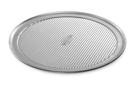 usa pans  nonstick aluminized steel pizza pan  cutlery
