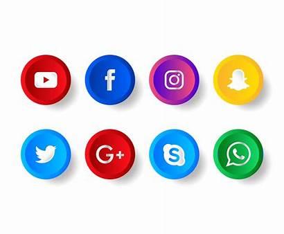 Social Icons Vector Clipart Graphics Vectors