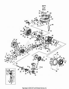 Mtd 21aa40m1000  2011  Parts Diagram For Engine Assembly 170