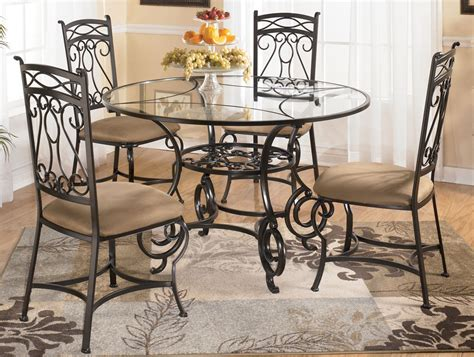 round glass breakfast table set dining room stunning round glass dinette sets round glass