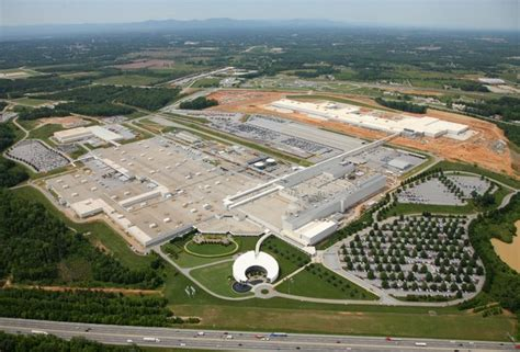 Bmw Automobile Assembly Plant, Spartanburg, Sc Faithful