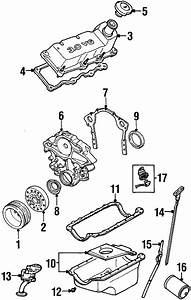 Ford Taurus Engine Timing Cover  Liter  Sho  Cylinder