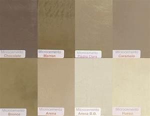 Microcemento color con hidrolaqueado en tonos marrones
