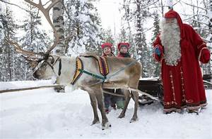 Christmas Travel Chilling With Santa In His Finnish