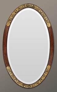Runder Spiegel Silber : antike spiegel rahmen oval spiegel art deco ~ Whattoseeinmadrid.com Haus und Dekorationen
