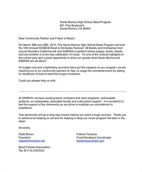donation letter template for schools sle letter asking for donations for school resumedoc info