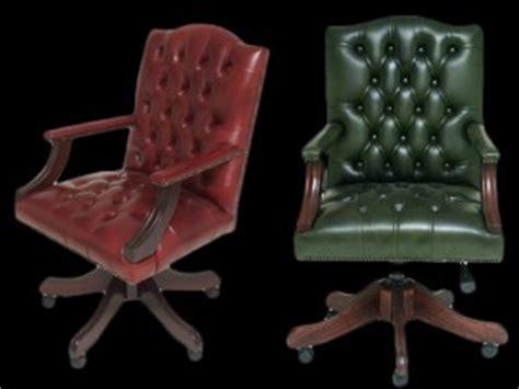 fauteuil de bureau anglais fauteuil de bureau anglais gainsborough longfield 1880