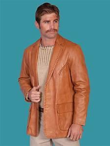 Italian Clothing Size Chart Scully Men 39 S Ranch Tan Italian Lamb Leather Jacket C O