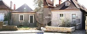 renovation maison ancienne avant apres cuisine naturelle With photo maison renovee avant apres