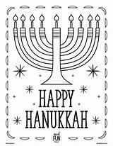 Coloring Pages Printable Hannukah Landofnod sketch template