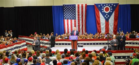 trump rally campaign president toledo woub year thursday donald aug convention
