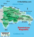 Dominican Republic Map / Geography of Dominican Republic ...