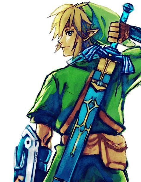 The Legend Of Zelda Images Link Fan Art Hd Wallpaper And