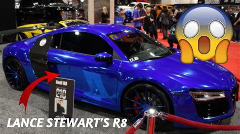 lance stewart audi r8 philadelphia auto show lance stewart 39 s r8 doovi