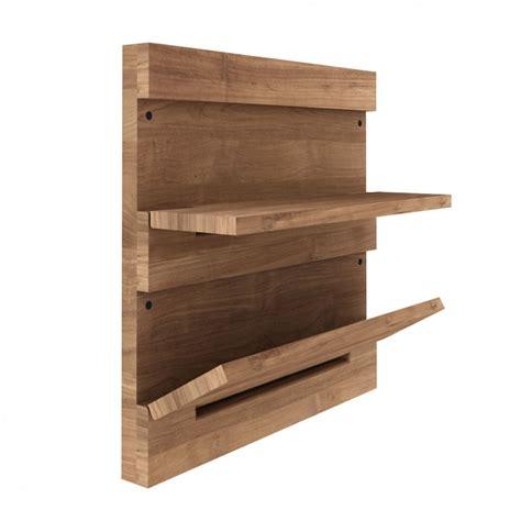 mensole ribaltabili utilitle s pensile da parete ethnicraft in legno con