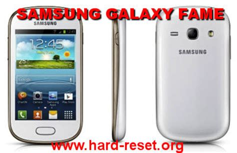 how to easily master format samsung galaxy fame gt s6810 s6810p with safety reset