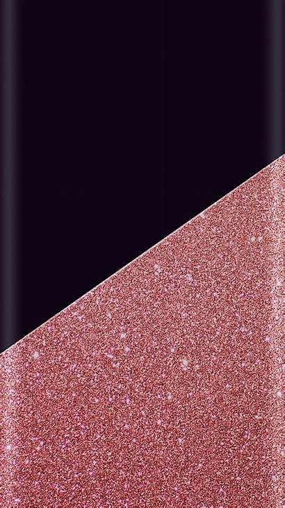 Gold Pink Rose Iphone Sparkle Glitter Wallpapers