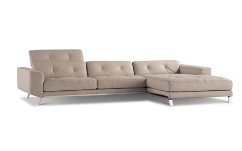 canape blanc cuir design canapé aperçu design sacha lakic pour roche bobois