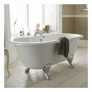 Mitigeur Pour Baignoire Ilot : baignoire ilot sur pied maison design ~ Edinachiropracticcenter.com Idées de Décoration