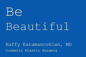 ... cosmetic plastic surgery procedures. Dr. Karamanoukian is a specialist  Plastic and Cosmetic Surgery Procedures and Therapies