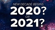 Is 2020 the start of a new decade? • Skeptical Science