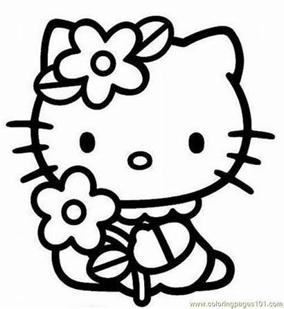 Hello Coloring Kitty Kitty2 Pages Printable Sanrio