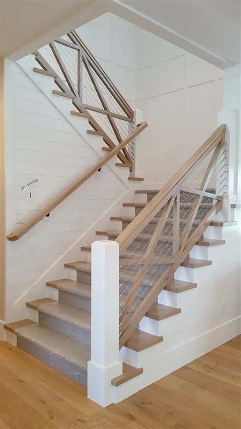 Primary Farmhouse Style Stairs Whimsical