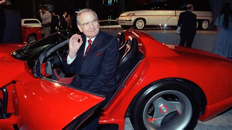 Chrysler Iacocca by Iacocca Was A C E O For The Television Age The New
