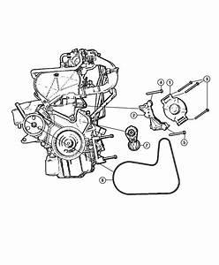 2010 Chrysler Sebring Belt  Alternator Drive  Used For