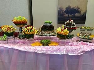Dessert Buffets - Fruit Buffet Edible Fruit