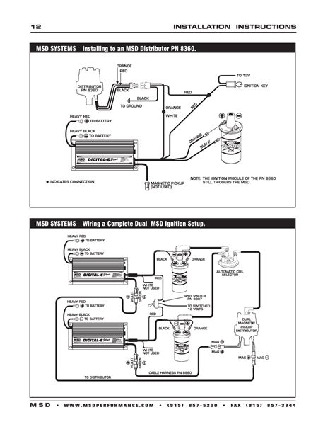 Msd Digital Plus Ignition Control Installation User