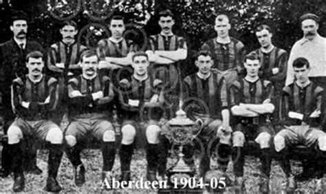 Aberdeen - Historical Scottish Football Kits