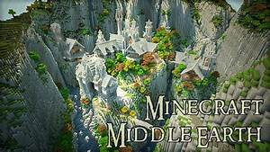 Lord Of The Ring Middle Earth Minecraft Building Inc