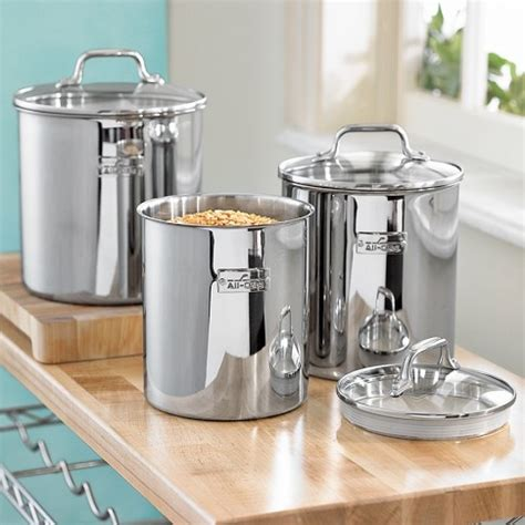images  stainless steel canister sets