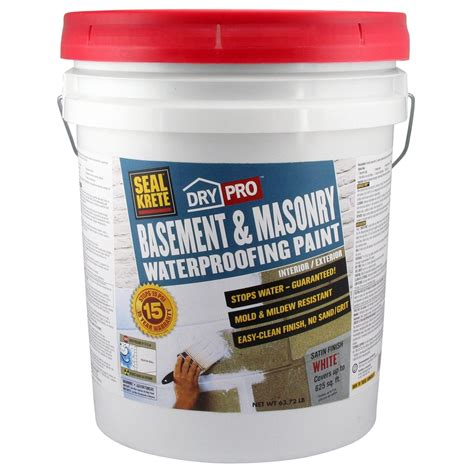 basement waterproofing paint drylok