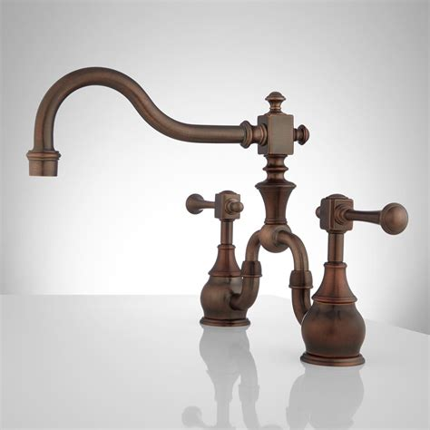 vintage kitchen faucets antique bronze kitchen faucet galleryhip com the hippest pics