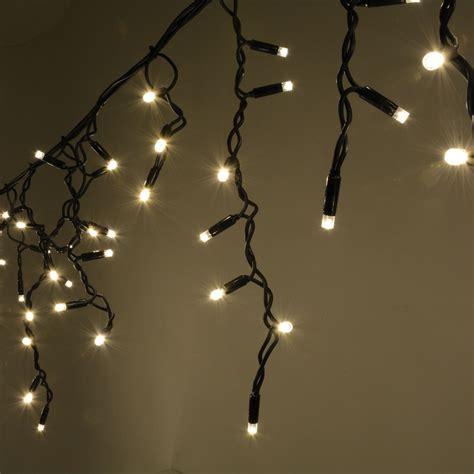 heavy duty outdoor led lights 300 warm white heavy duty outdoor icicle led string lights