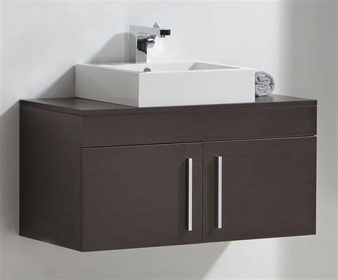 Wall Hung Cabinets - wall hung bathroom sink basin cabinet vanity unit mf62 ebay